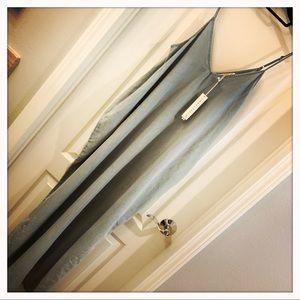 Light Blue Tencel Pocketed Maxi Dress
